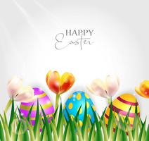 Ilustração do vetor do feriado feliz de Easter.