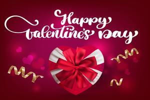 Feliz dia dos namorados cartão romântico vetor