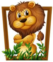 Leão vetor
