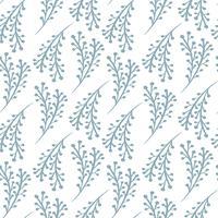 Padrão sem emenda de vetor de Natal em estilo escandinavo. Melhor para travesseiro, tipografia, cortinas