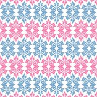 Fundo Floral Ornamental Sem Costura vetor