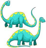 Dinossauro com pescoço comprido