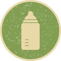 Ícone de vetor de mamadeira