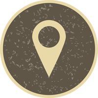 Ícone do vetor de localização
