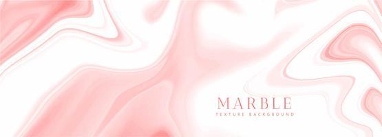 Design de modelo de banner de textura de mármore abstrato vetor