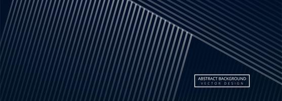 Modelo de banner abstrato geométrico vetor