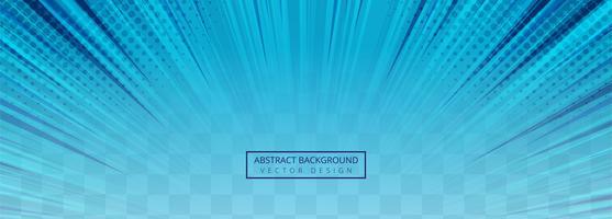 Fundo transparente abstrato raios azuis vetor