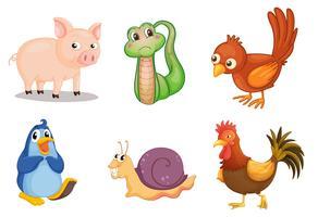 Série animal vetor