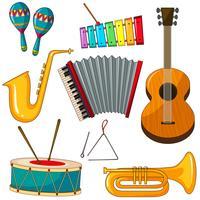 Instrumentos vetor