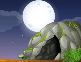 Caverna vetor