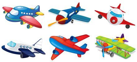 Aviões vetor