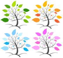 Árvores vetor