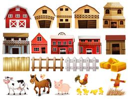 Conjunto de fazenda