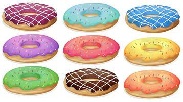 donuts vetor