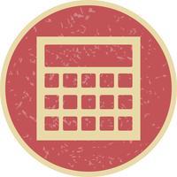 Ícone de cálculo vetorial vetor