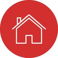 Casa icon ilustração vetorial vetor