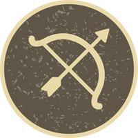 Arco, ícone, vetorial, ilustração vetor