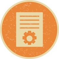 Ícone de Marketing de artigo vetorial vetor