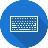 Ícone do teclado do vetor