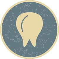 Ícone de dente de vetor