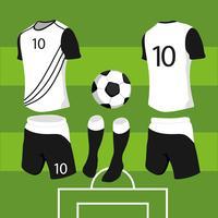 camisa esporte simulada vetor