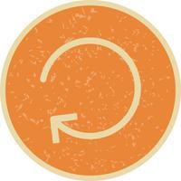 Ícone de atualização de vetor