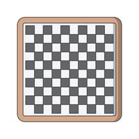 Ilustração em vetor ícone xadrez