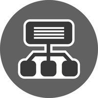 Ícone de Sitemap de vetor