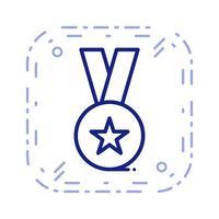 Ícone de prêmio de vetor