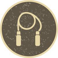 Ilustração em vetor ícone corda de salto