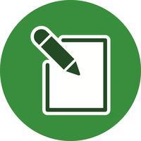 Editar, ícone, vetorial, ilustração vetor