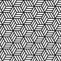 Padrão sem emenda geométrico abstrato vetor