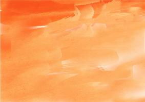 Mão colorida pintada em aquarela background.Orange aquarela pinceladas. Textura e fundo abstratos da aguarela para o projeto. Fundo aquarela sobre papel texturizado. vetor