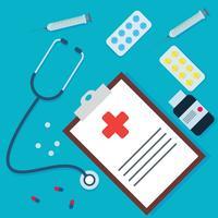 Cuidados de saúde impressionantes vetor