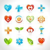 Ícones de logotipo médicos