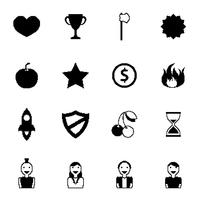 Ícones de jogos retrô