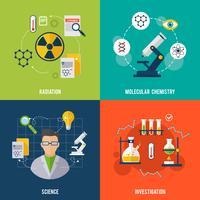 Conjunto plano de química