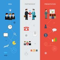 Banners de Negócios Vertical