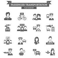 Ícone de transporte de passageiros