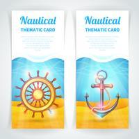 Conjunto de Banners Marinhos