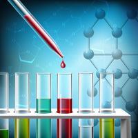 Closeup de pesquisa de ciência
