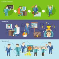 Homem negócios, trabalhando, jogo vetor