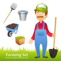 Avatar de homem de fazendeiro