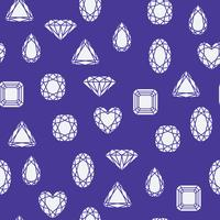 Padrão de diamantes vetor