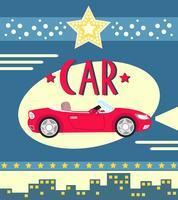 cartaz de carro