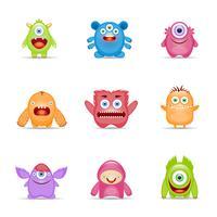Conjunto de caracteres monstro