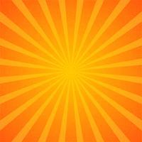 Papel de parede de fundo Sunburst vetor