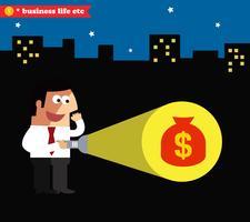 Realização de negócios vetor