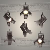 iluminação de palco