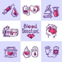 Conceito de design de doador